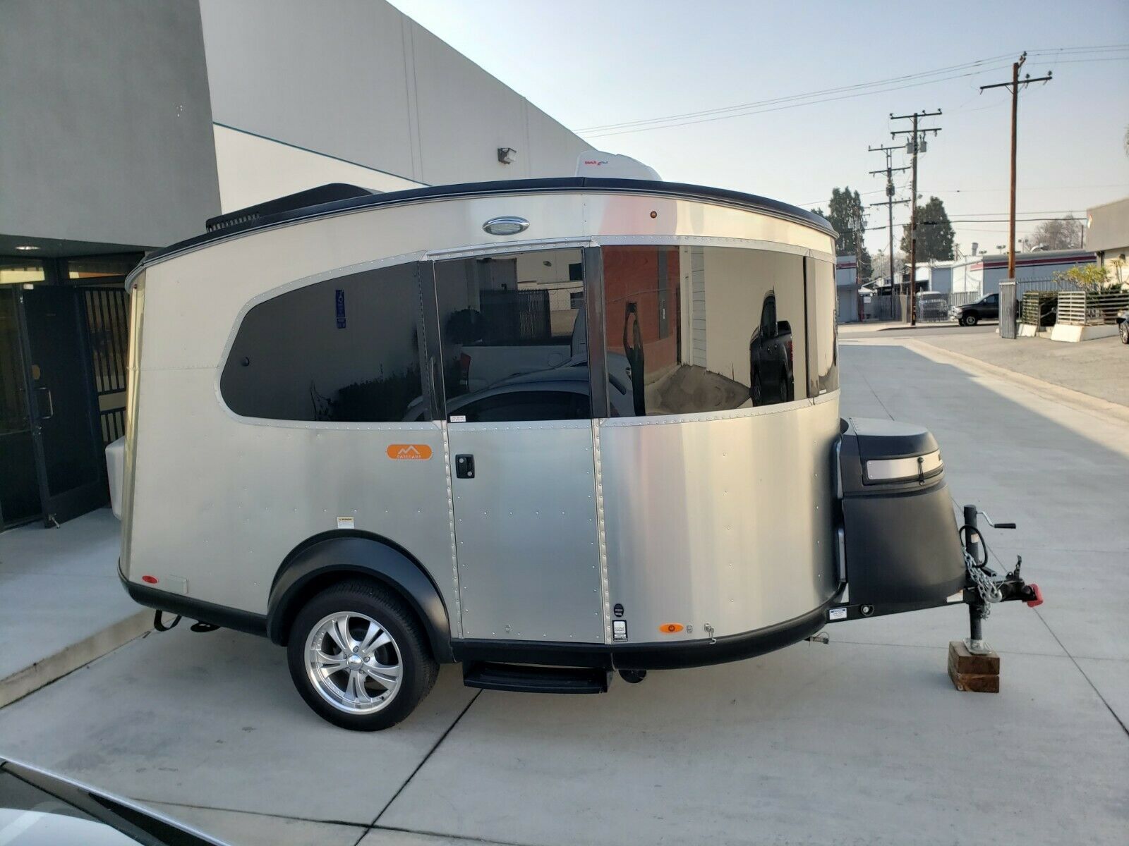 compact 2017 Airstream Basecamp camper