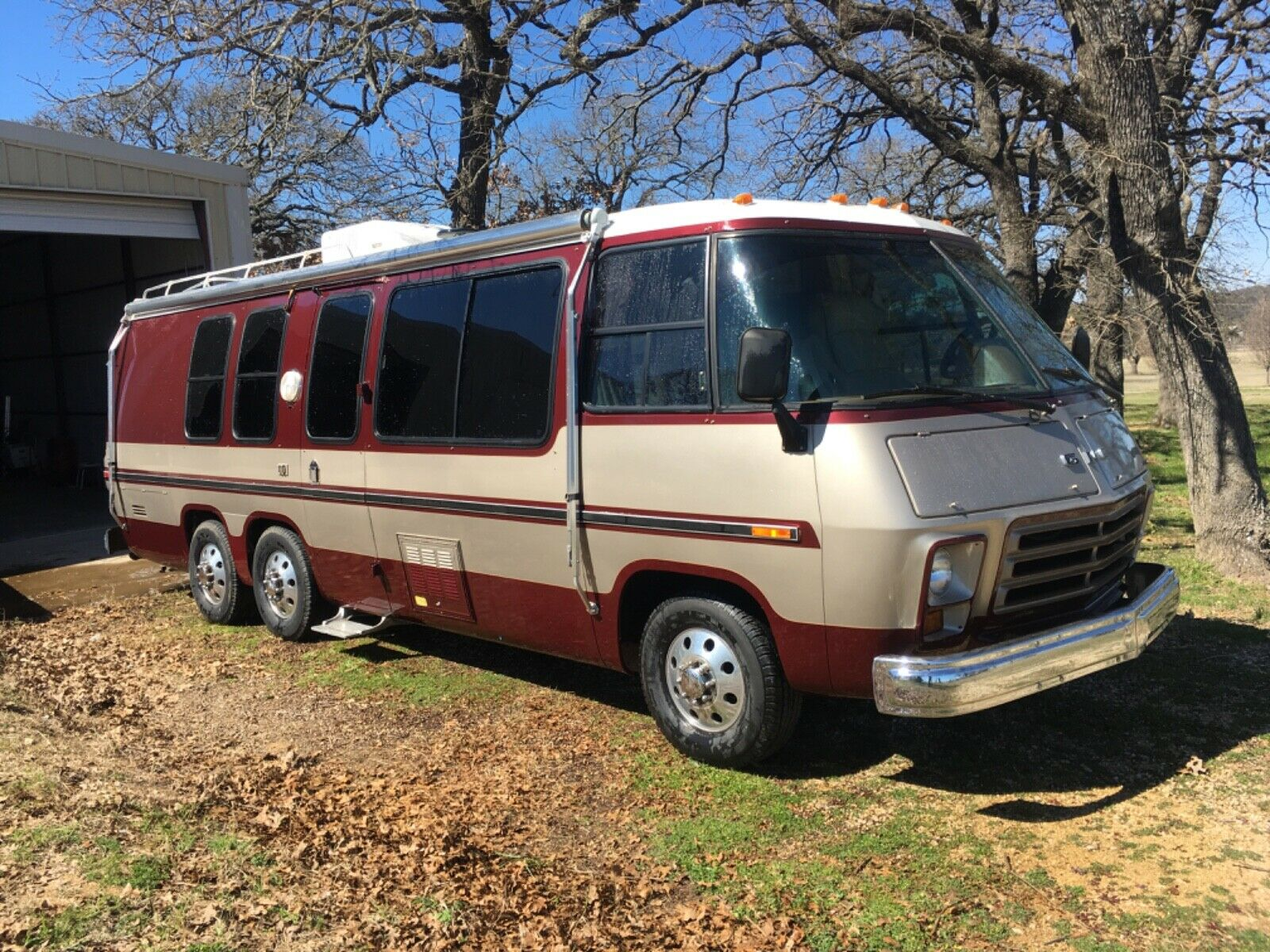 custom paint 1977 GMC Royale camper for sale