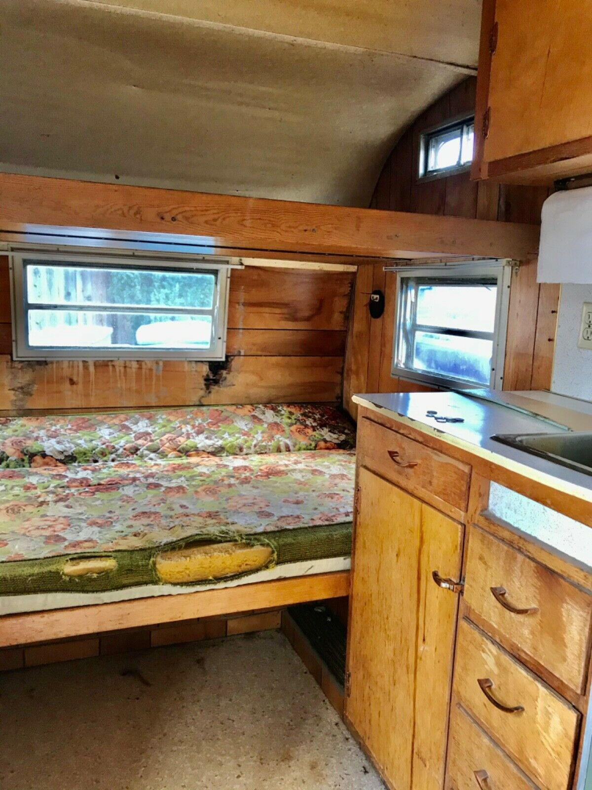 project 1968 Forester camper