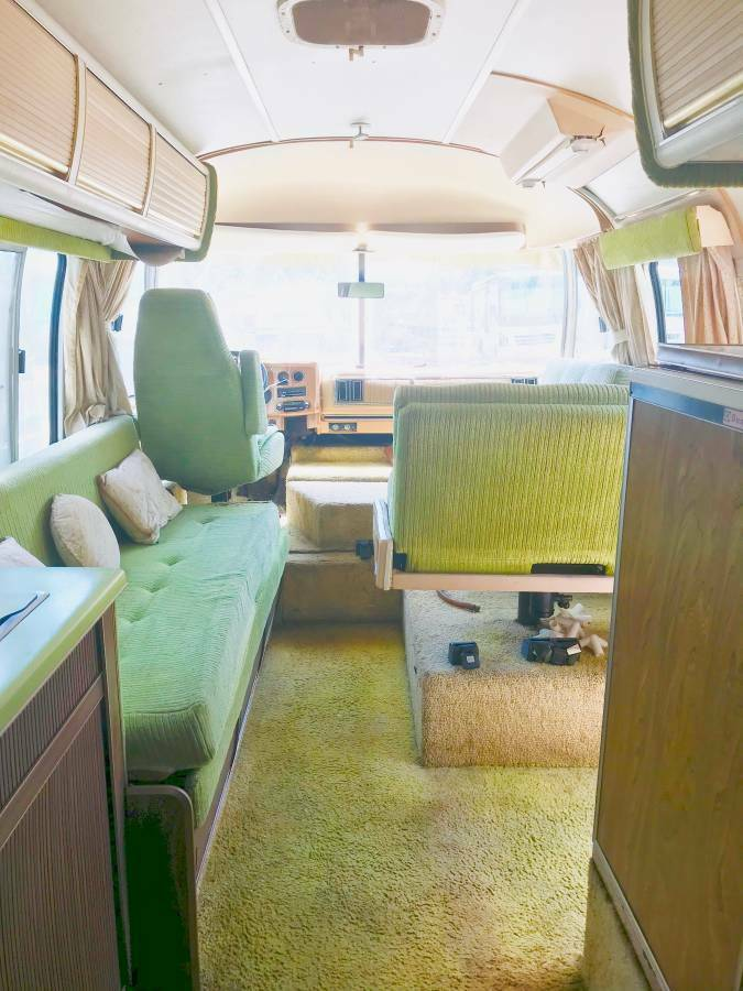 needs TLC 1977 Airstream Argosy camper