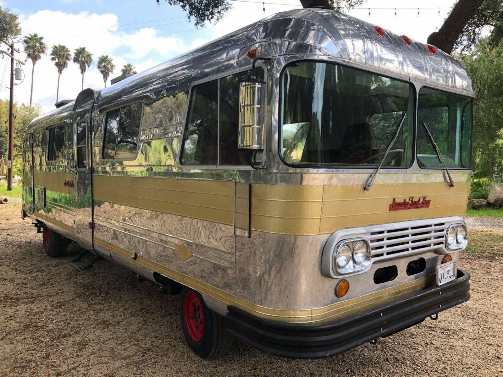 very rare 1965 Streamline Travel Coach camper for sale