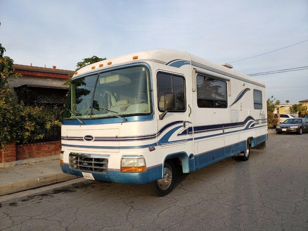 clean 1996 Rexhall Aerbus Widebody camper for sale