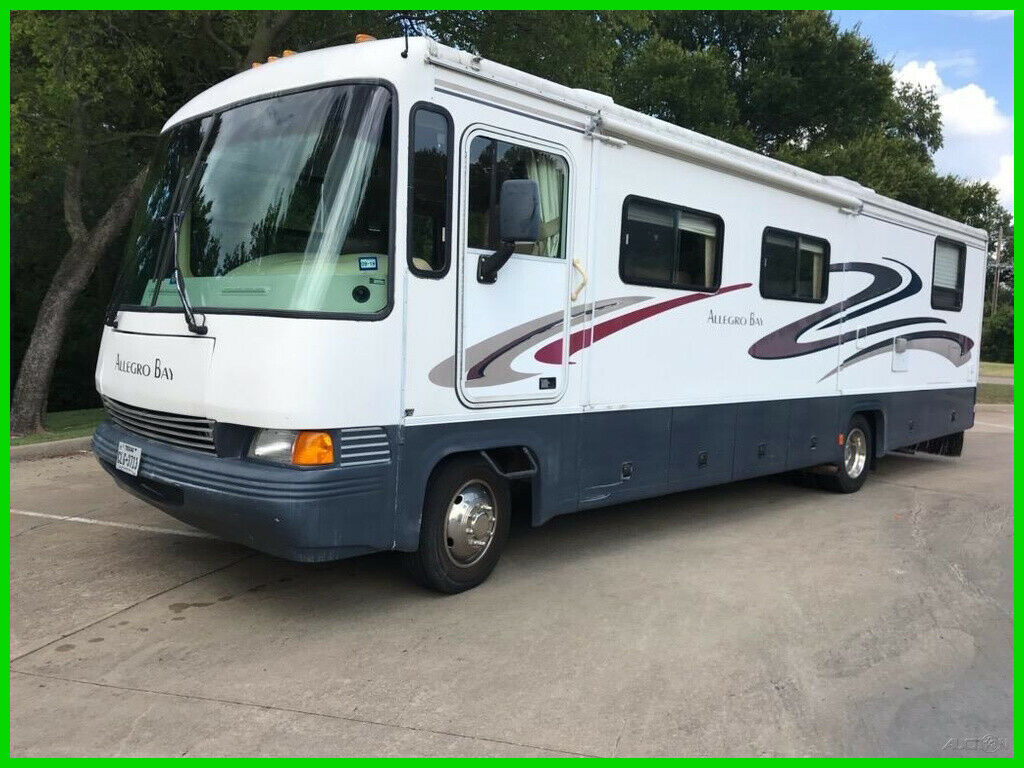 loaded with goodies 2000 Tiffin Motorhomes Allegro Bay camper for sale
