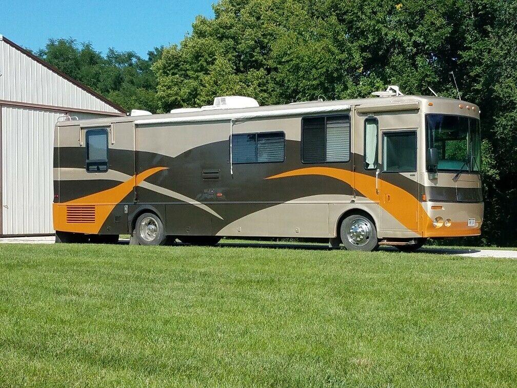 new equipment 2000 Winnebago Itasca Horizon 36LD Diesel camper