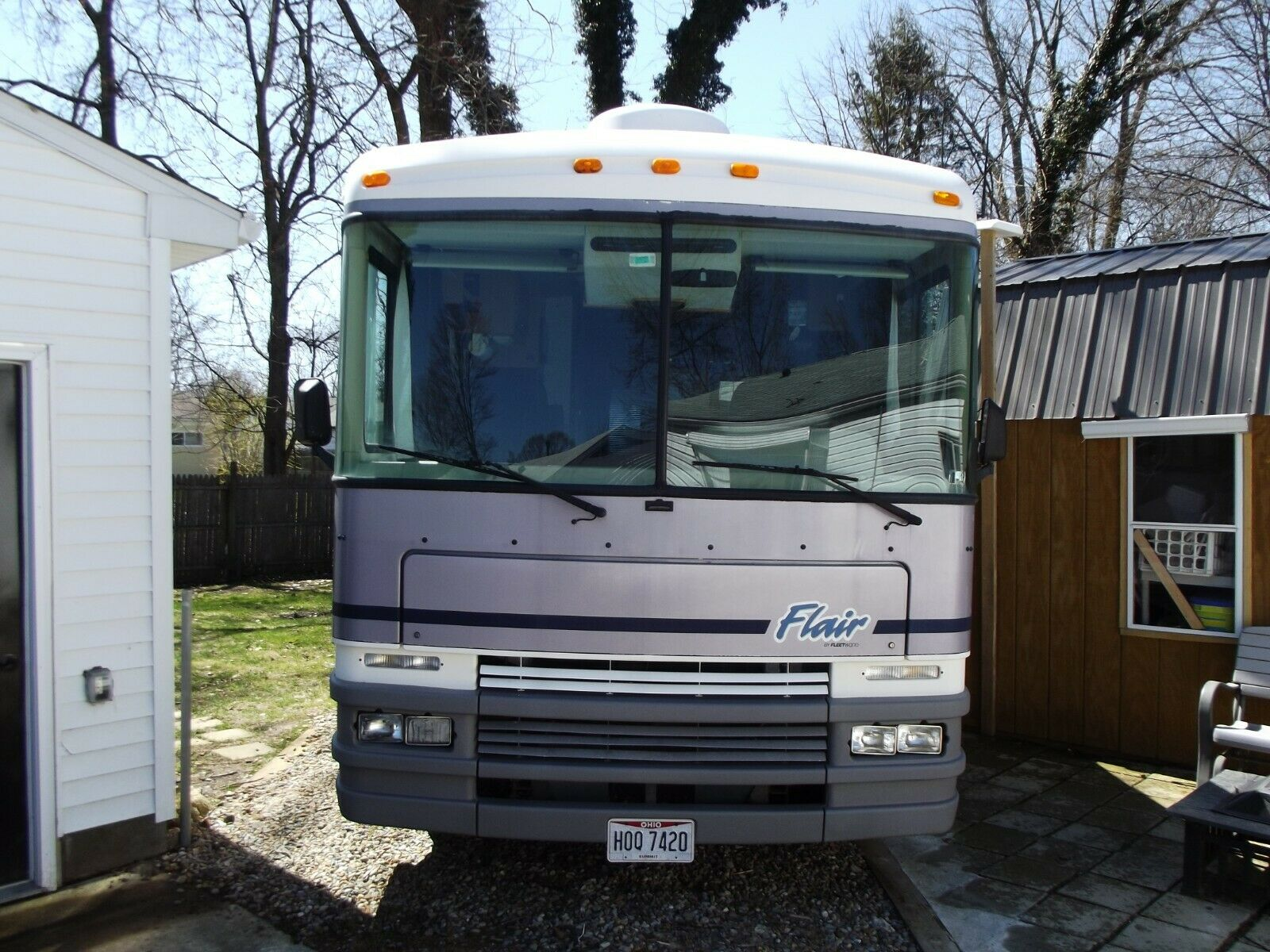very good shape 1997 Fleetwood Flair camper for sale