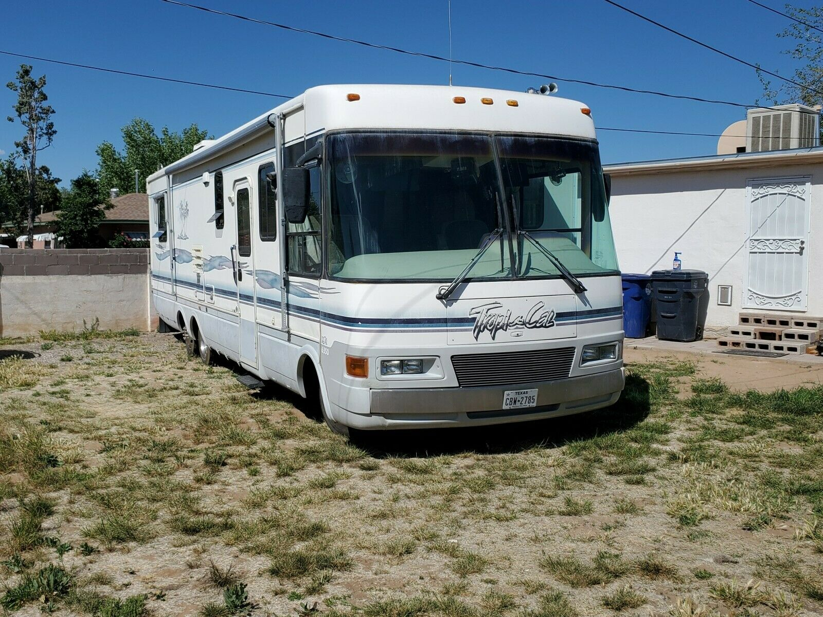 well equipped 1998 National Tropi Cal 6350 camper for sale